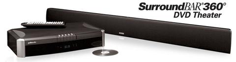 Mẫu soundbar âm thanh vòm Polk SurroundBar 360. Ảnh: Polk.