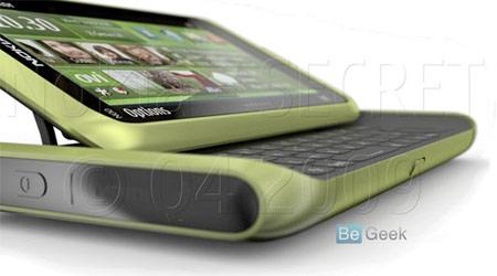 Hình ảnh được cho là Nokia N8. Ảnh: Be Geek.