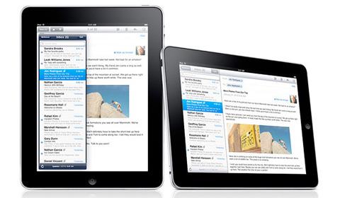 iPad là một cơn sốt mới đến từ Apple. Ảnh: Apple.