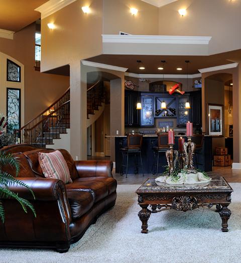Tìm kiếm những góc, những đồ đạc phản ánh đầy đủ đặc trưng riêng của căn nhà.