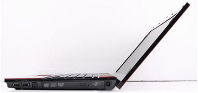 HP ProBook 4411s Thoải mái sử dụng với độ mở lớn nhất của màn hình.