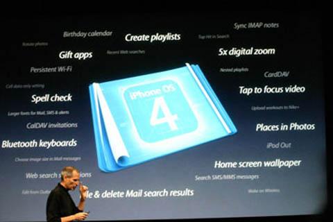 iPad sẽ chậm được cập nhập lên hệ điều hành iPhone 4.0. Ảnh: Digitalartsonline.