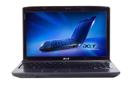 Acer Aspire 4740G. Ảnh: Acer.
