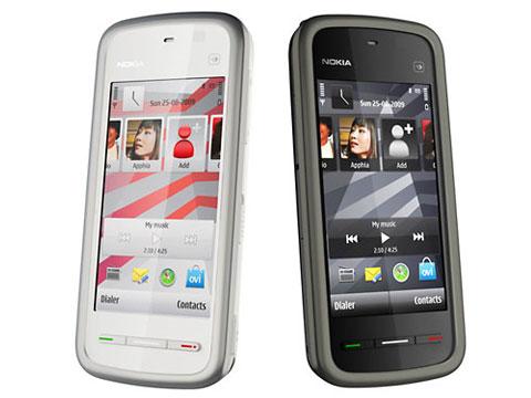 Nokia 5233 là di động cảm ứng rẻ nhất của hãng.