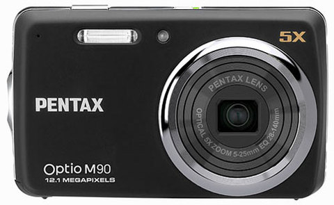 Pentax Optio M90. Ảnh: Dpreview.