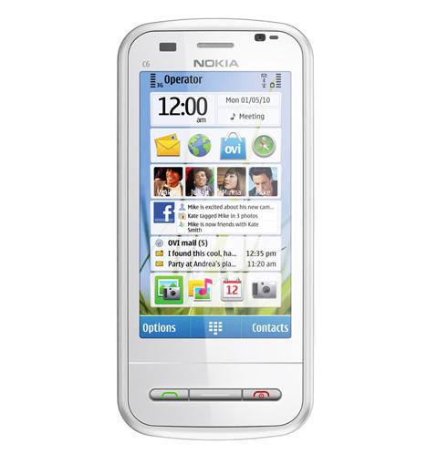Các ứng dụng mạng xã hội và tin nhắn hiển thị trực tiếp trên màn hình.