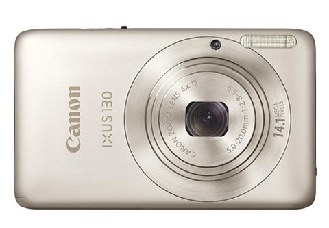 Canon IXUS 130 có nhiều màu sắc ngoài màu bạc cơ bản. Ảnh: Letsgodigital.