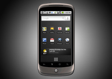Video đập hộp Google Nexus One.