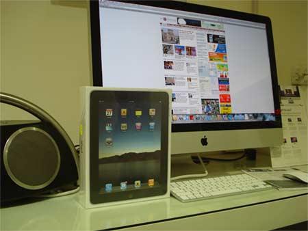 Chỉ còn duy nhất 1 chiếc iPad 3G tại cửa hàng.