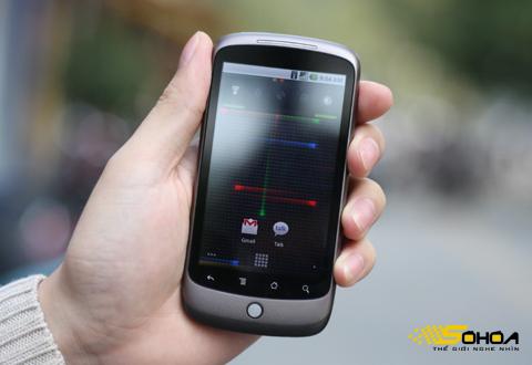 Điện thoại chạy Android của Google ngày một nhiều model hơn tại Việt Nam. Ảnh: Quốc Huy.