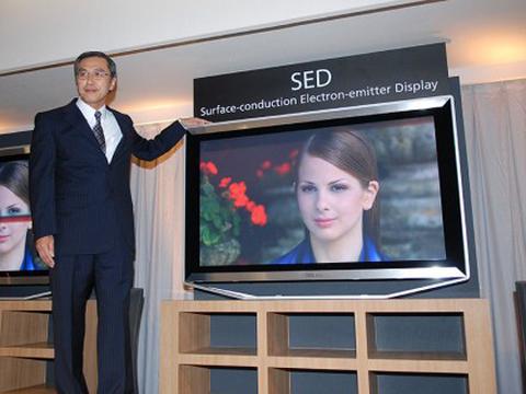 Màn hình SED có độ tương phản cực cao, sáng, đẹp nhưng cũng tiết kiệm nhiều điện năng khi so sánh với LCD và Plasma. Ảnh: OLED.