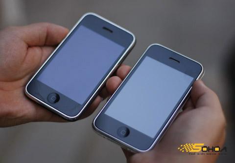 Giá iPhone không giảm trong hai tháng qua. Ảnh: Quốc Huy.
