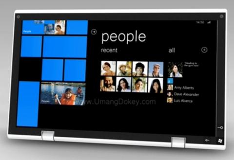 Windows Phone 7 sẽ không phát triển cho máy tính bảng.