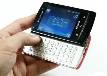 Phiên bản X10 Mini Pro có thêm bàn phím Qwerty trượt.