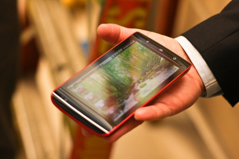 Dell Streak có màn hình lớn. Ảnh: Pocket-lint.