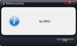 Tính năng chụp ảnh màn hình chỉ có ở phiên bản PRO.