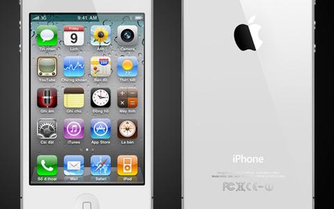 iPhone 4 là di động hỗ trợ tiếng Việt đầy đủ.