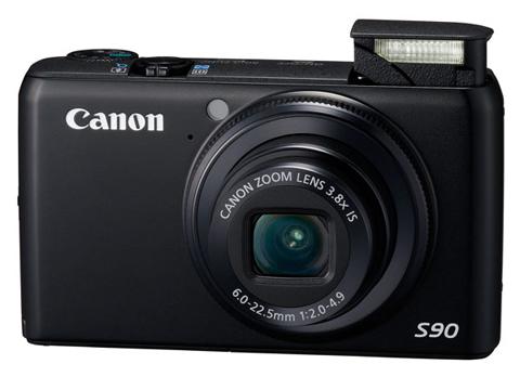 Canon PowerShot S90 IS.