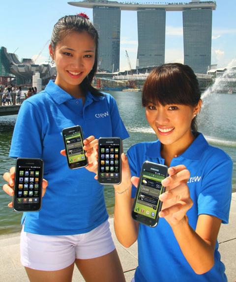 Samsung sẽ giới thiệu tới 5 mẫu máy vào ngày mai. Ảnh: Samsunghub.