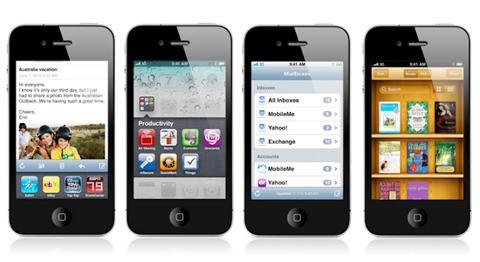 iOS 4 có nhiều thay đổi.
