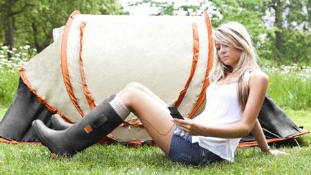 Video giới thiệu đôi ủng Orange Power Wellies.