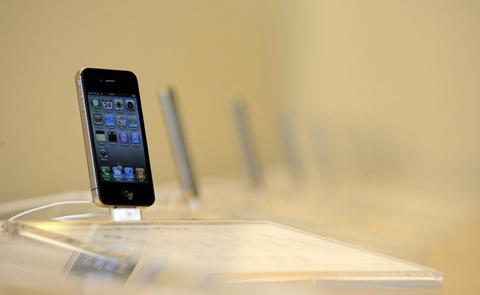 Chiếc di động mới của Apple có thể lập kỷ lục về số lượng bán ra. Ảnh: Daylife.