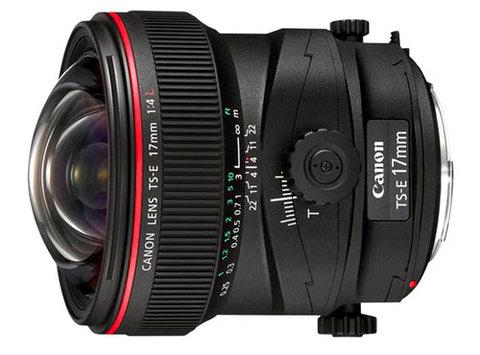 Canon TS-E 17mm f/4L. Ảnh: PhotoRadar.