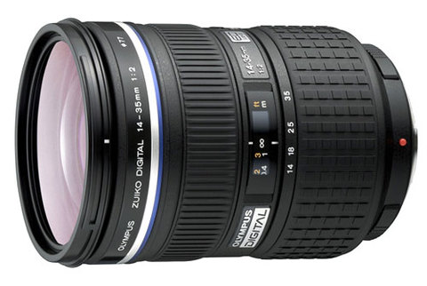 Olympus Zuiko Digital ED 14-35mm f/2SWD. Ảnh: PhotoRadar.