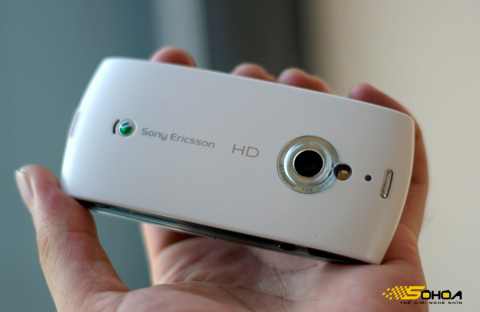Máy hỗ trợ quay phim HD 720p. Ảnh: Quốc Huy.