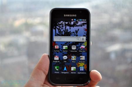 Samsung Galaxy S là một trong những smartphone chạy Android được mong chờ.