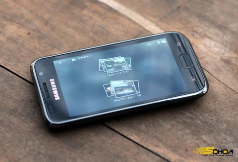Galaxy S hàng chính hãng sẽ được bán đầu tháng 8 tới. Ảnh: Quốc Huy.
