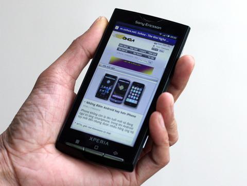 X10, một trong những mẫu smartphone