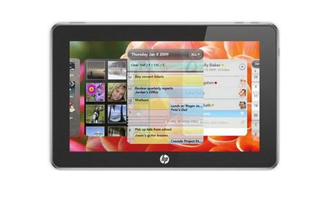HP Slate chạy Windows 7 sẽ hướng đến người dùng là doanh nghiệp. Ảnh: Rembook.