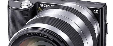 Sony NEX-5. Ảnh: Akihabaranews.