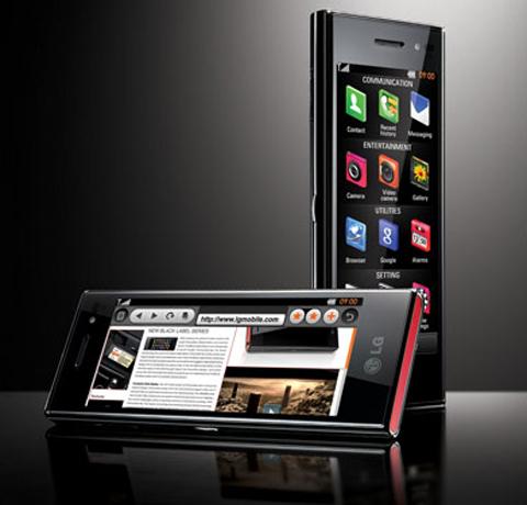 Chocolate BL40 với màn hình dài.