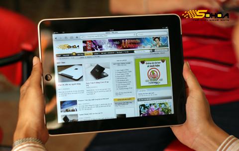iPad sẽ sớm có phiên bản màn hình 7 inch. Ảnh: Quốc Huy.