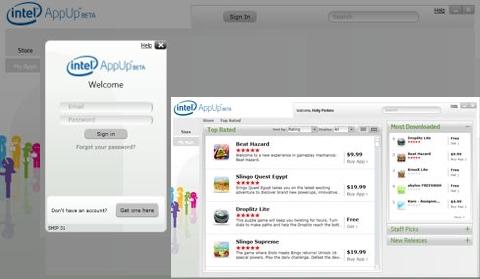 Giao diện kho ứng dụng AppUp Center. Ảnh: Lilputing.