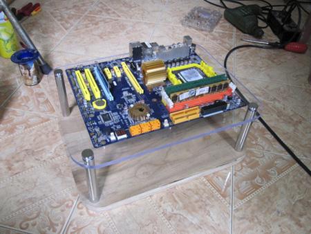Một chiếc Bench table đã thành hình (ảnh: Vozforums).
