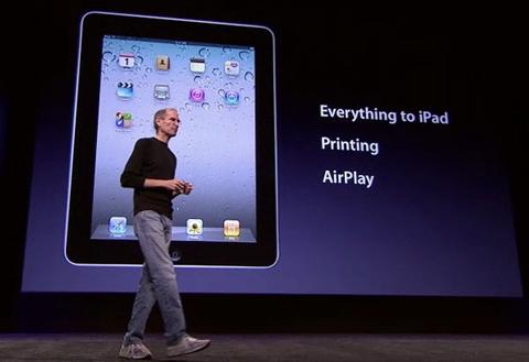 iPad đã có thể chạy đa nhiệm cùng hai bộ tính năng mới là Airplay và Printing.
