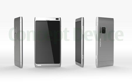 Mẫu thiết kế Nokia U.