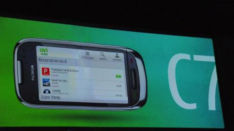Hình ảnh Nokia C7. Ảnh: Engadget.