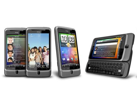 Những điện thoại mới của HTC sẽ bán tháng tới.