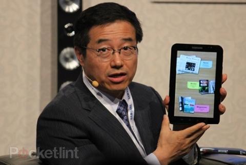 Galaxy Tab sẽ có bản 10 inch. Ảnh: Pocket-lint.