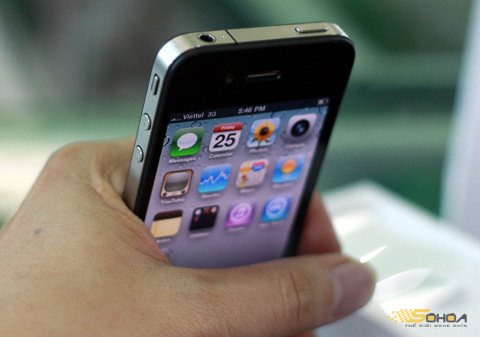 Thiết kế đẹp của iPhone 4