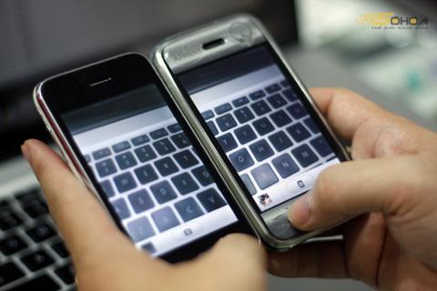Những bản iPhone cũ thường có nhiều người gốc, nên xem kỹ khi chọn mua. Ảnh: Quốc Huy.