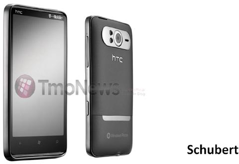 Hình ảnh HD7 bản dành cho T-Mobile. Ảnh: Tmonews.