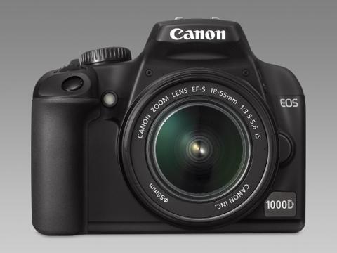 Canon EOS 1000D. Ảnh: Photographyblog.