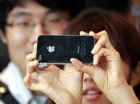 iPhone 4 bán ở Hàn Quốc bị tốt là hàng kém chất lượng. Ảnh: Daylife.