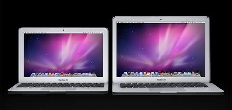 Macbook Air mới có hai kích thước màn hình.