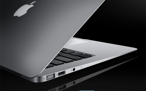 Kiểu dáng siêu mỏng mang phong cách thiết kế unibody đặc trưng của Apple.